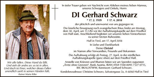 DI Gerhard Schwarz