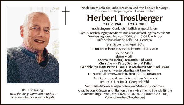 Herbert Trostberger