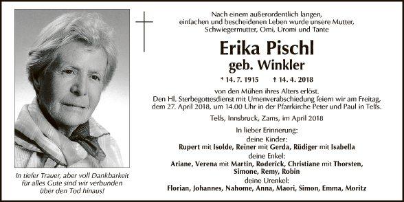 Erika Pischl