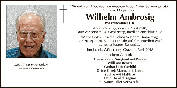 Wilhelm Ambrosig