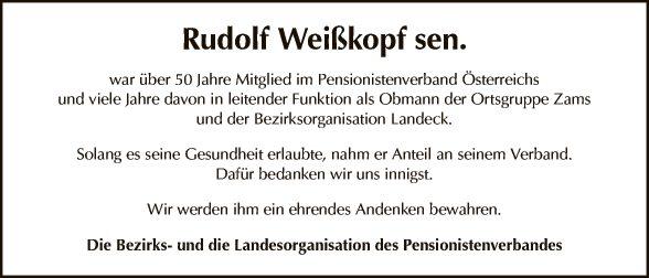 Rudolf Weißkopf sen.