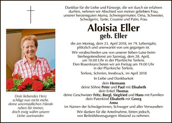 Aloisia Eller