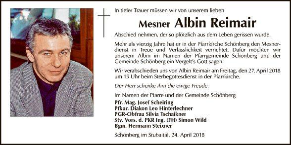 Albin Reimair