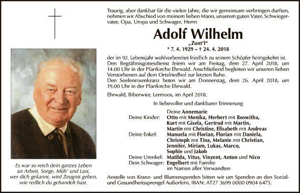 Adolf Wilhelm