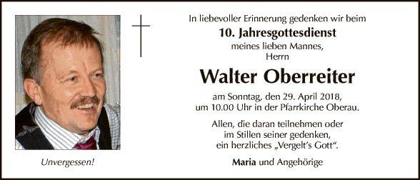 Walter Oberreiter