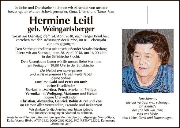 Hermine Leitl