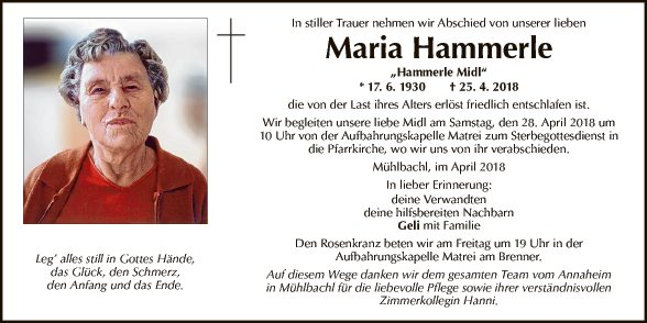 Maria Hammerle