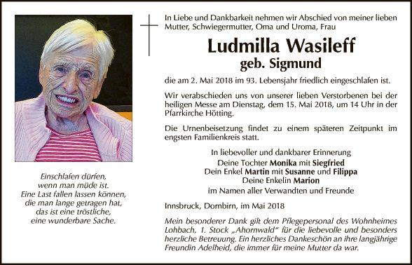 Ludmilla Wasileff