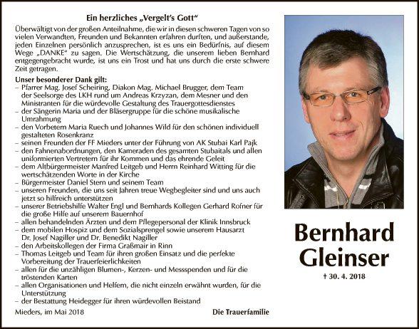 Bernhard Gleinser