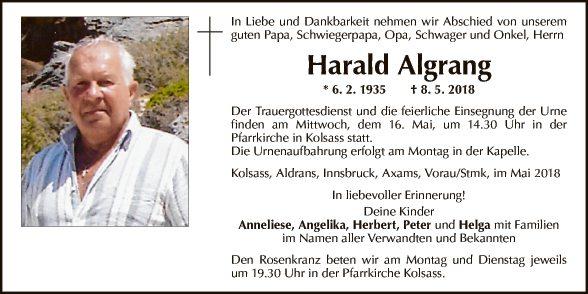 Harald Algrang