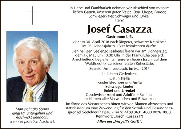 Josef Casazza