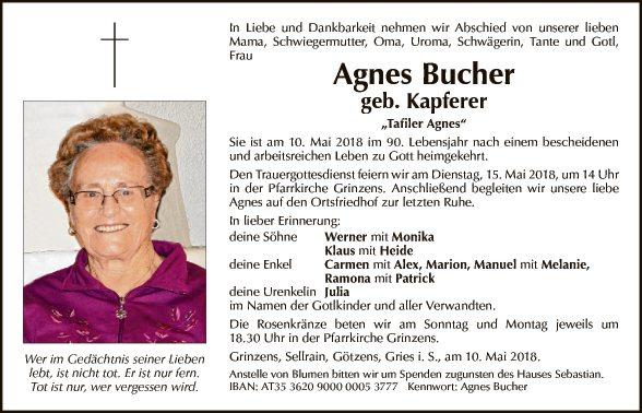 Agnes Bucher