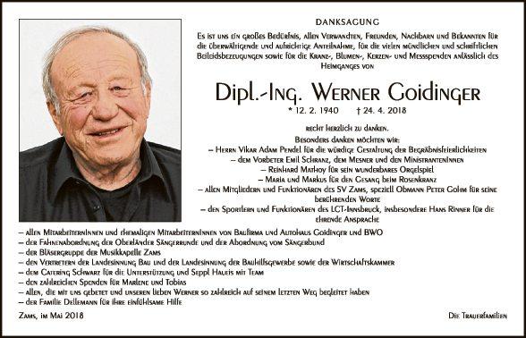 Werner Goidinger