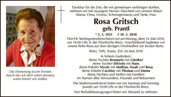 Rosa Gritsch