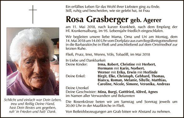 Rosa Grasberger