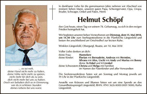 Helmut Schöpf