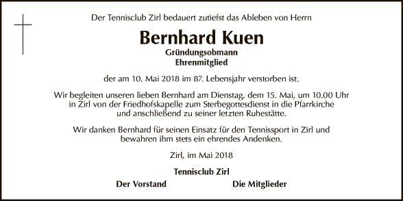 Bernhard Kuen (Tennisclub)