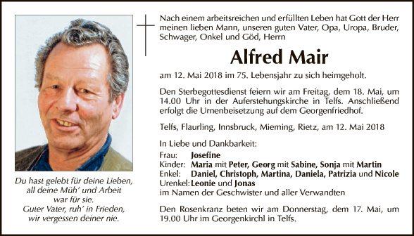 Alfred Mair