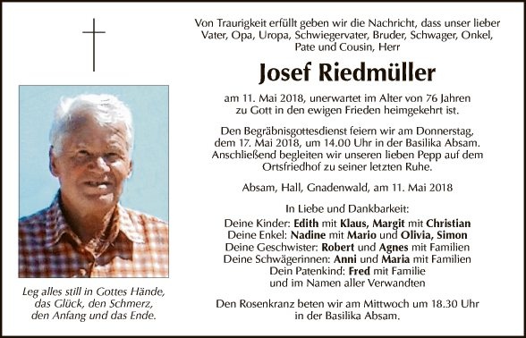 Josef Riedmüller