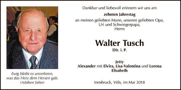 Tusch Walter