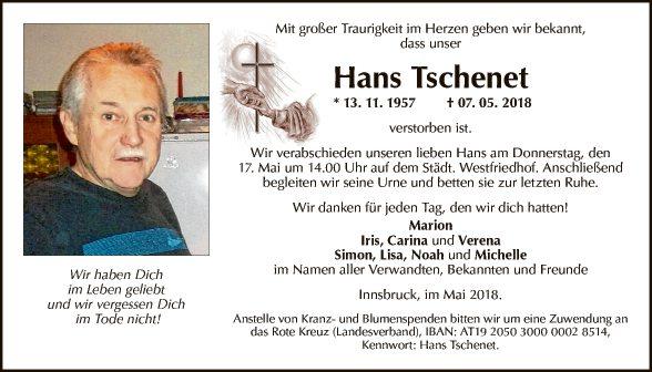 Johann Tschenet