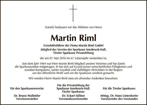 Martin Riml
