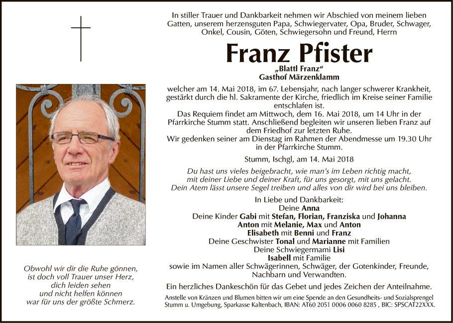 Franz Pfister