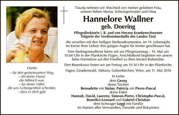 Hannelore Wallner
