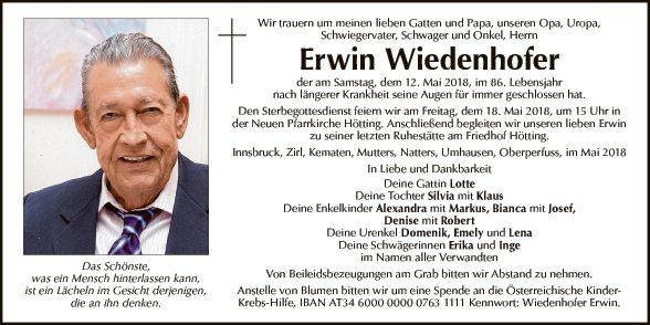 Erwin Wiedenhofer