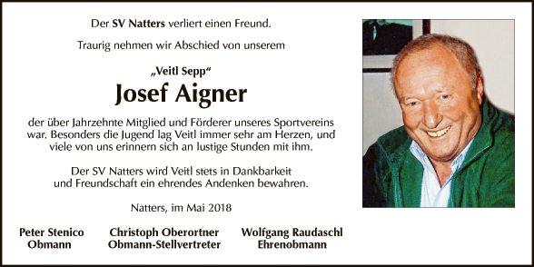 Josef Aigner
