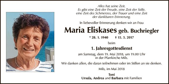 Maria Eliskases