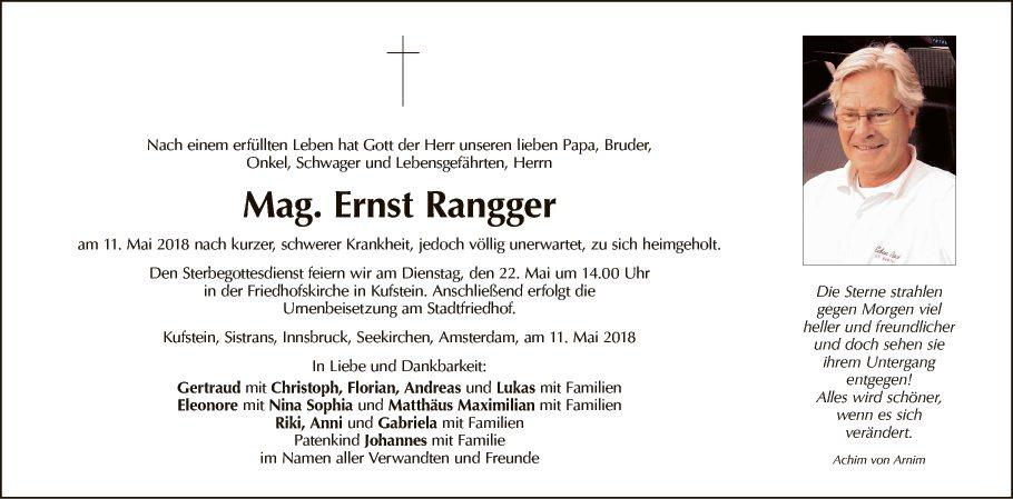 Ernst Rangger