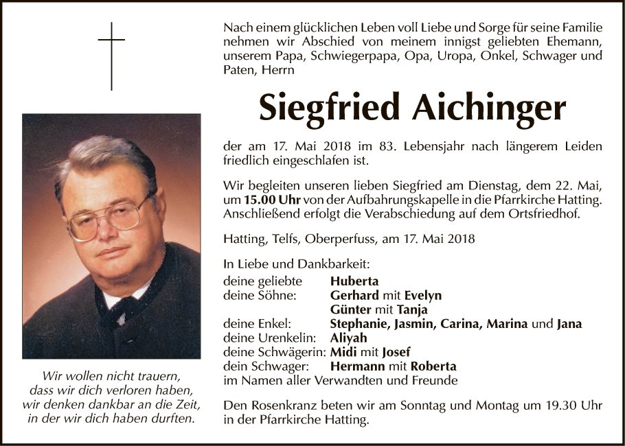 Siegfried Aichinger