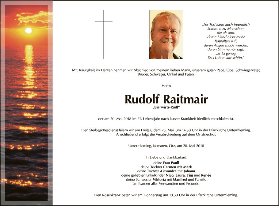 Rudolf Raitmair