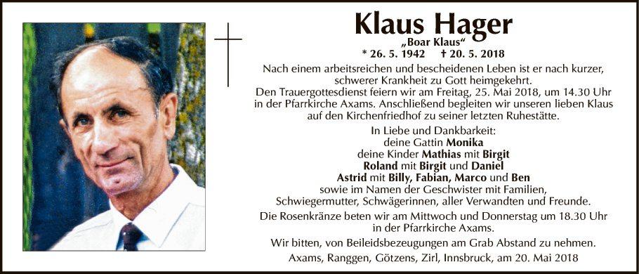 Klaus Hager