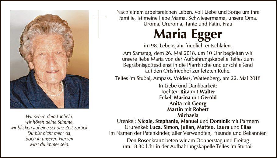 Maria Egger