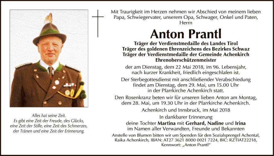 Anton Prantl