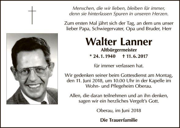 Walter Lanner