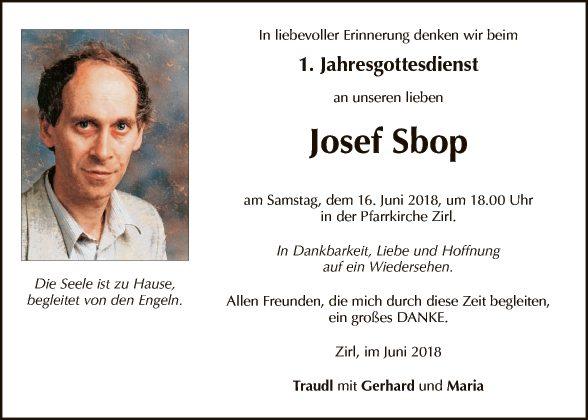 Josef Sbop