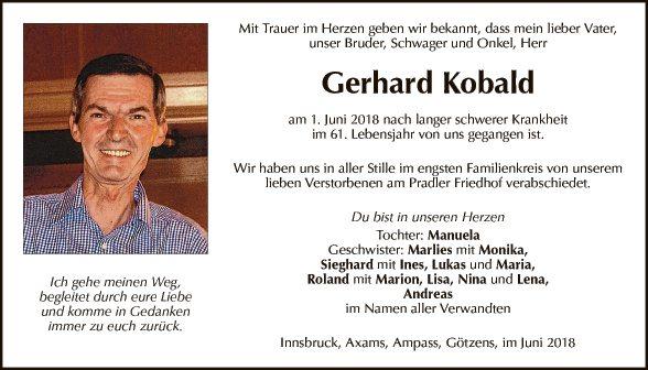 Gerhard Kobald