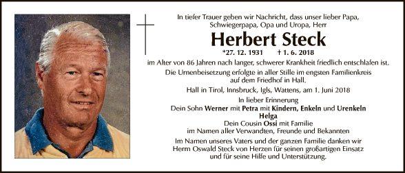 Herbert Steck