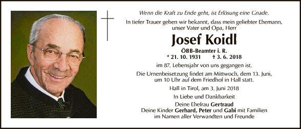 Josef Koidl