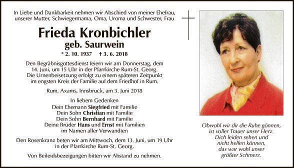 Frieda Kronbichler