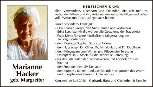 Marianne Hacker