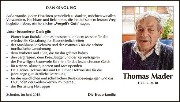 Thomas Mader
