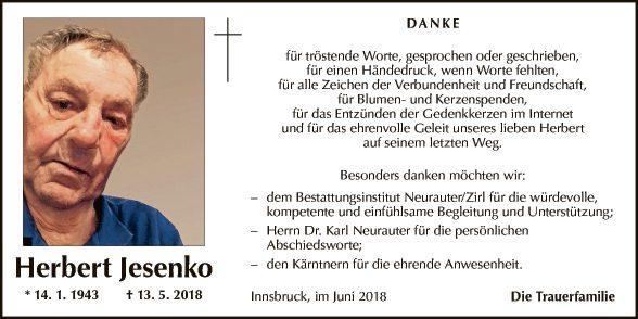 Herbert Jesenko