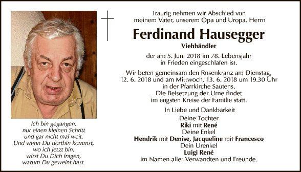 Ferdinand Hausegger