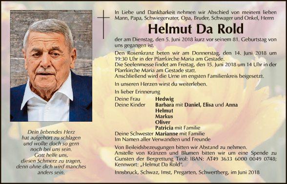 Helmut Da Rold