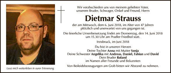 Dietmar Strauss