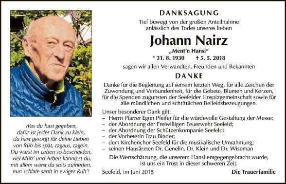 Johann Nairz
